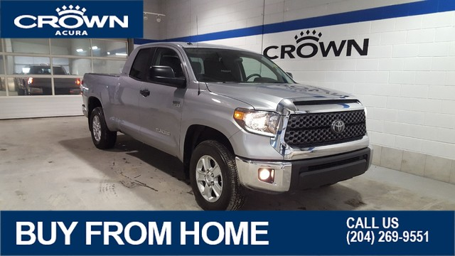 Pre-Owned 2018 Toyota Tundra SR5 5.7L Double Cab 4x4 **Includes Tonneau Cover**