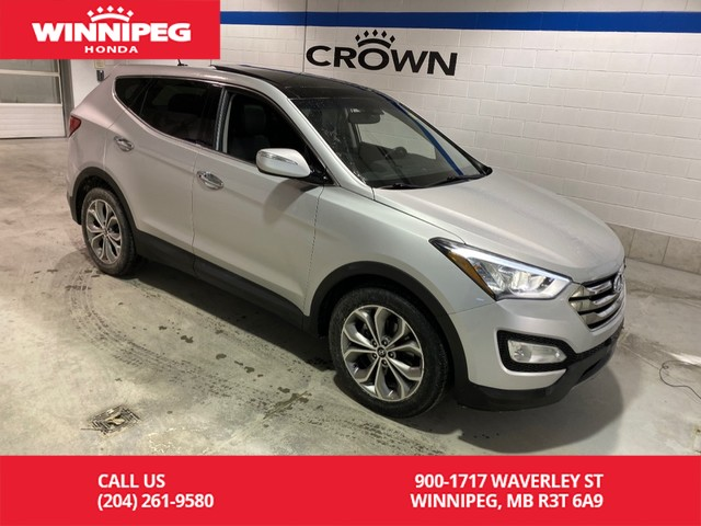 Pre-Owned 2013 Hyundai Santa Fe 2.0T Limited AWD / Panoramic roof / Heated seats / Navigation