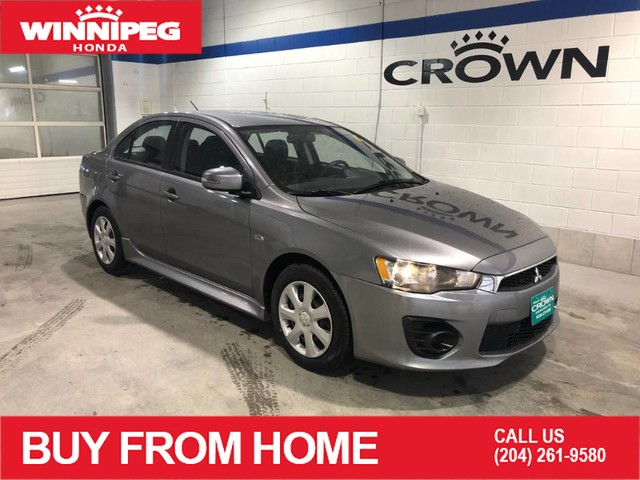 Pre-Owned 2017 Mitsubishi Lancer SE / Bluetooth / Heated seats / Rear vie camera / 10 year PT warranty