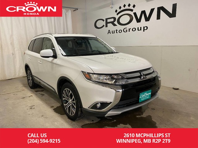 Pre-Owned 2017 Mitsubishi Outlander AWC 4dr ES/ ONE OWNER/ ACCIDENT FREE/ LOW KMS/ REMOTE START/ HEATED FRON SEATS/ BLUETOOTH CONNECTIVITY