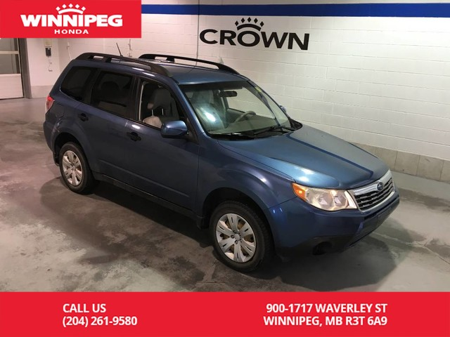 Pre-Owned 2009 Subaru Forester (Natl) 4dr Manual X w/Premium Pkg PZEV