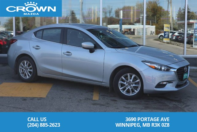 Pre-Owned 2018 Mazda3 GS **Unlimited KM Warranty**