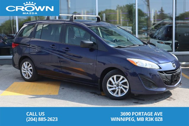 Pre-Owned 2012 Mazda5 GS **One Owner/ Great Family Car**