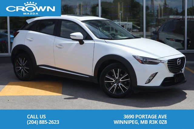 Pre-Owned 2016 Mazda CX-3 GT **Unlimited KM Warranty**