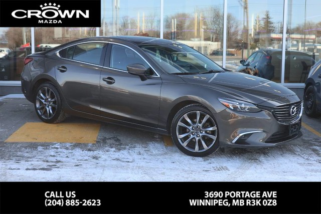 Pre-Owned 2017 Mazda6 GT **Bought Here/Serviced Here**