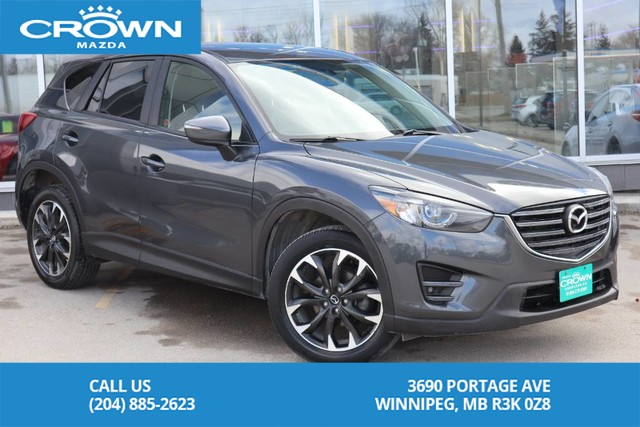 Pre-Owned 2016 Mazda CX-5 GT *LOCAL ONE OWNER TRADE IN* AWD 4dr Auto GT