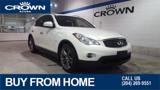 Pre-Owned 2014 INFINITI QX50 Journey AWD **Navigation** **Manitoba Local Trade In****