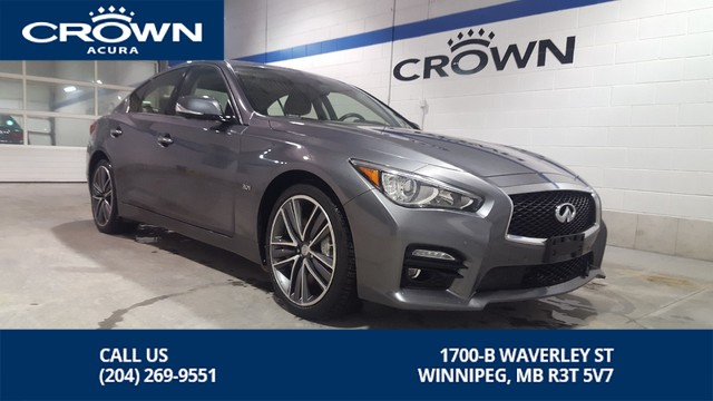 Pre-Owned 2016 INFINITI Q50 S 3.0T **All Wheel Drive** Navigation **
