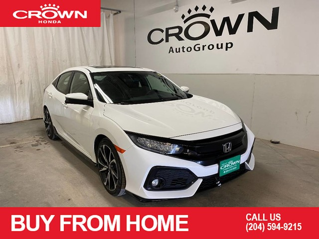 Pre-Owned 2018 Honda Civic Hatchback Sport Touring/low kms/ backup camera/sunroof/heated seats/ push start /heated side mirror