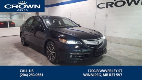 Certified Pre-Owned 2015 Acura TLX Elite V6 SH-AWD **0.9% Finance Rate** Includes No Charge 130000 Km Warranty**