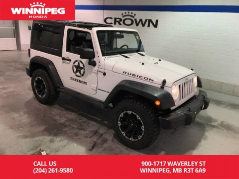Pre-Owned 2014 Jeep Wrangler Rubicon/Manual/Navigation/Hard and Soft top