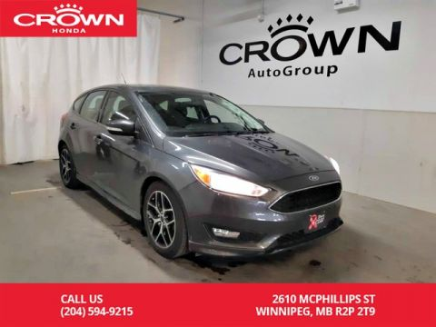 Pre-Owned 2017 Ford Focus SE/one owner/accident-free/ low kms/ back up cam/ heated seats/ heated steering wheel/