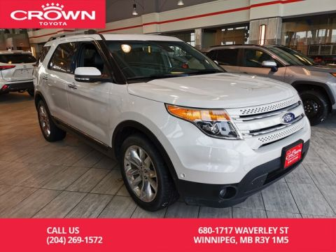 Pre-Owned 2015 Ford Explorer LIMITED / AWD / LEATHER / HEATED SEATS / LOCAL / ACCIDENT FREE