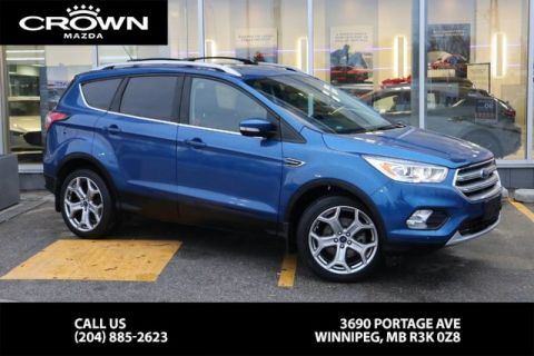 Pre-Owned 2017 Ford Escape Titanium **Local Vehicle/4wd**