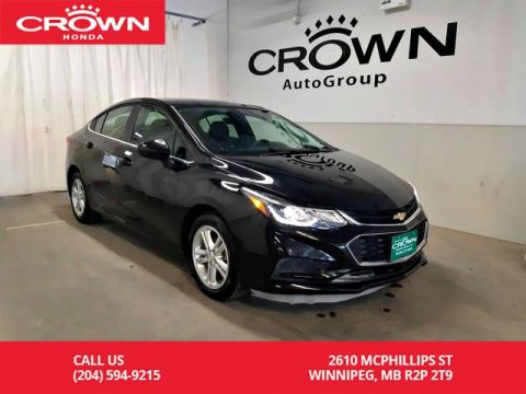 Pre-Owned 2016 Chevrolet Cruze LT/ACCIDENT-FREE HISTORY/ ONE OWNER/ LOW KMS/ BACK UP CAM/