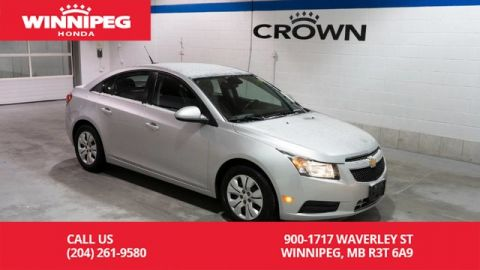 Pre-Owned 2013 Chevrolet Cruze LT Turbo w/1SA/Cruise/Air/Bluetooth
