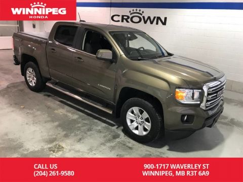 Pre-Owned 2015 GMC Canyon Crew Cab 128.3 SLE/Rear view camera/Bluetooth
