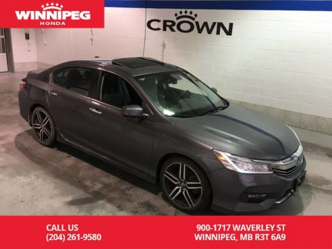 Pre-Owned 2016 Honda Accord Sedan Certified/Touring/Sunroof/Navigaiton/Bluetooth