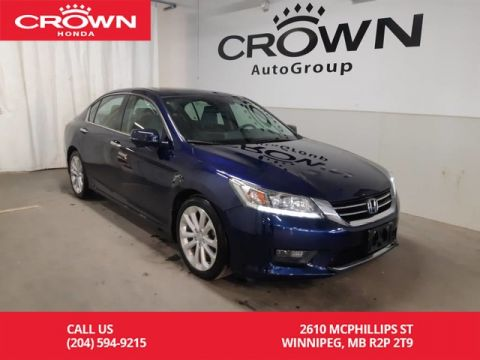 Pre-Owned 2015 Honda Accord Sedan Touring/ ONE OWNER LEASE RETURN/ LOW KMS