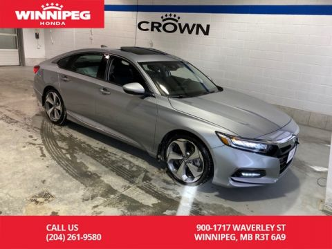 Certified Pre-Owned 2018 Honda Accord Sedan Touring / Certified / Crown Original / Leather / Heated steering
