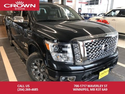 Pre-Owned 2017 Nissan Titan Platinum Reserve *Leather/Remote Start/Accident Free/Crown Original*