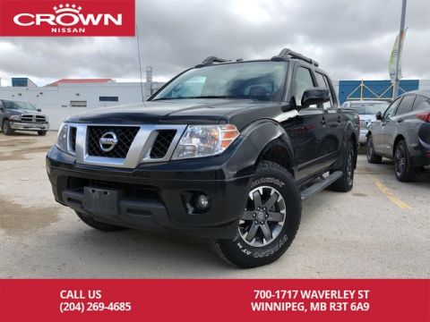 Pre-Owned 2016 Nissan Frontier PRO-4X Crew Cab 4WD 4.0L V6 *Leather/One Owner*