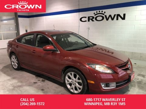Pre-Owned 2009 Mazda6 4dr Sdn Man i Touring / One Owner / Low Kms / Leather