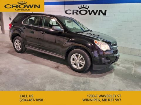 Pre-Owned 2013 Chevrolet Equinox AWD LS **Local Manitoba Vehicle**