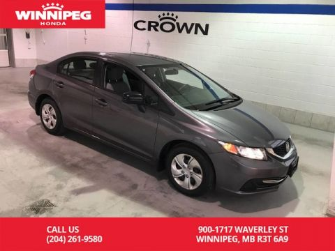 Pre-Owned 2014 Honda Civic Sedan Certified/LX/Lease return/Bluetooth/#1 selling car in Canada