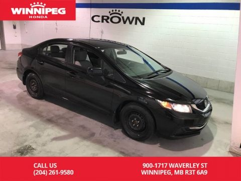 Pre-Owned 2015 Honda Civic Sedan LX/Accident free/Lease return/Bluetooth/heated seats