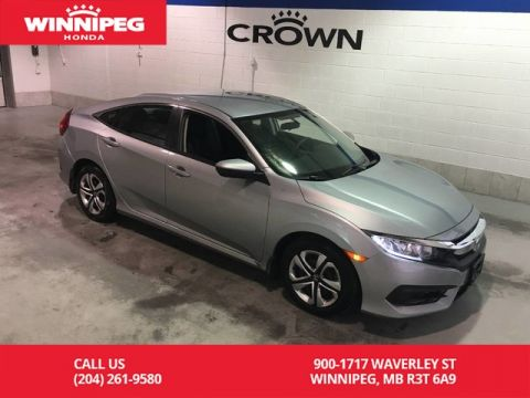 Certified Pre-Owned 2016 Honda Civic Sedan Certified/Bluetooth/heated seats/rear view camera/Apple car play