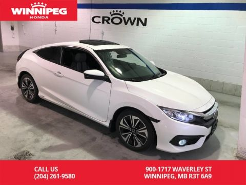 Pre-Owned 2016 Honda Civic Coupe Certified/EX-T w/Honda Sensing/Bluetooth/Heated seats