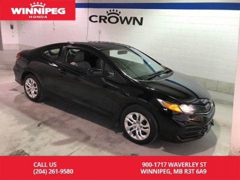 Pre-Owned 2015 Honda Civic Coupe Certified/LX/Lease return/Bluetooth/Rear view camera