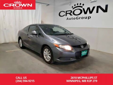 Pre-Owned 2012 Honda Civic Cpe EX-L/ one owner/ navigation system/remote start/sunroof/ heated seats/ econ mode assist