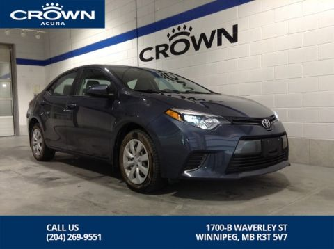 Pre-Owned 2015 Toyota Corolla LE ** Includes Winter Tires and Rims ** Low Kms **