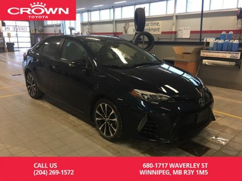 Pre-Owned 2017 Toyota Corolla XSE CVT / Crown Original / Certified / One Owner