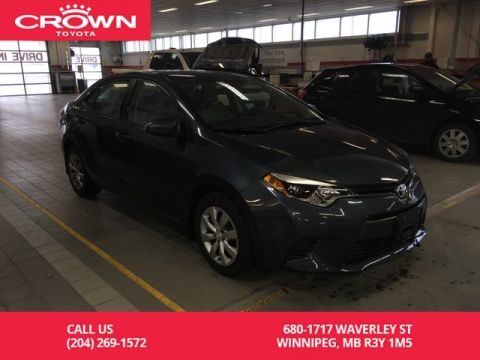 Pre-Owned 2016 Toyota Corolla LE 4dr Sdn CVT / Local / Lease Return / Great Codition