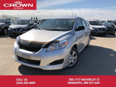 Pre-Owned 2010 Toyota Matrix Hatchback *Local/One Owner*