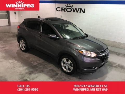 Pre-Owned 2016 Honda HR-V EX/Sunroof/Bluetooth/Heated seats/Rear view camera