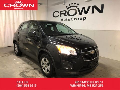 Pre-Owned 2013 Chevrolet Trax FWD 4DR LS/ BLUETOOTH PHONE CONNECTIVITY/ USB PORT/ KEYLESS ENTRY SYSTEM/ POWER LOCKS AND MANY MORE.