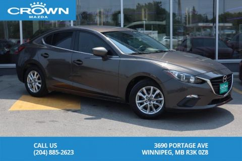 Pre-Owned 2015 Mazda3 GS **Unlimited KM Warranty**