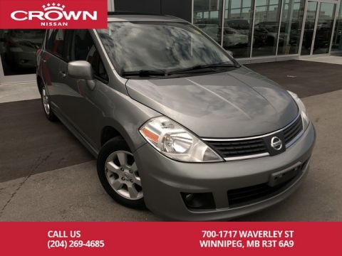 Pre-Owned 2008 Nissan Versa SL Hatchback *Winter Tires/Remote Starter*