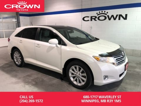 Pre-Owned 2010 Toyota Venza Premium Pkg AWD / Manitoba Vehicle / Leather / Great Value