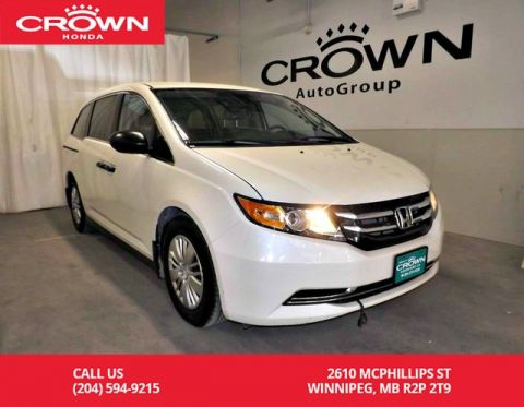 Pre-Owned 2017 Honda Odyssey LX/ACCIDENT-FREE HISTORY/ ONE OWNER/LOW KMS