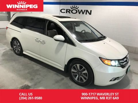 Pre-Owned 2015 Honda Odyssey Touring/One owner/Lease return/Fully loaded