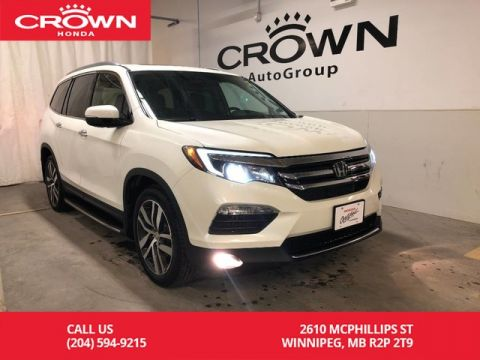 Certified Pre-Owned 2016 Honda Pilot 4WD 4dr Touring/ ONE OWNER/ ACCIDENT FREE/ PANORAMIC SUNROOF/ HEATED FRONT SEATS/ BACKUP CAMERA