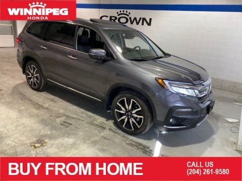 Pre-Owned 2019 Honda Pilot Touring 8-Passenger / Crown Original / Navi / Heated steering wheel