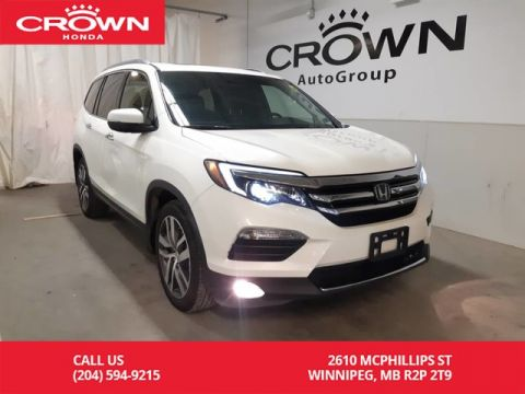 Pre-Owned 2017 Honda Pilot Touring/ 4WD/ ACCIDENT-FREE/ ONE OWNER/ VERY LOW KMS/