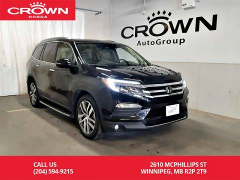 Pre-Owned 2016 Honda Pilot Touring/ navigation/ sunroof/ 7-seaters/ Blu-ray rear-seat entertainment system,
