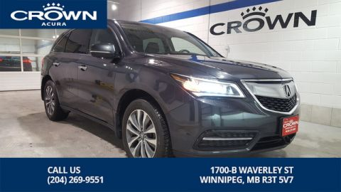 Certified Pre-Owned 2016 Acura MDX Navi Package **Includes No Charge Extended Warranty** **Crown Original** 7 Passenger **